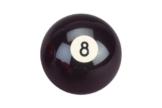 "Billard Kugel ""Nr.8"", schwarz,57,2mm -"