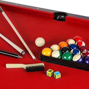 Pool Billardtisch mit Ballrücklauf